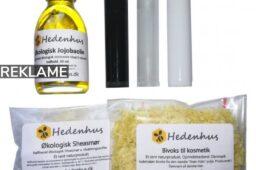 Lav din egen kosmetik med produkter fra Hedenhus